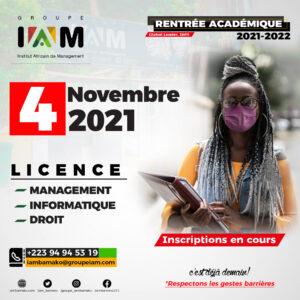 Rentrée Licence